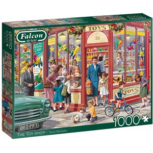 """Falcon (11284) - Victor McLindon: """"The Toy Shop"""" - 1000 piezas"""