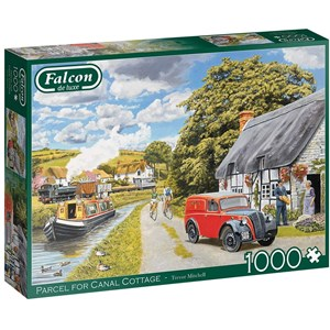 "Falcon (11299) - Trevor Mitchell: ""Parcel for Canal Cottage"" - 1000 piezas"