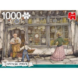 "Jumbo (18826) - Anton Pieck: ""The Clock Shop"" - 1000 piezas"