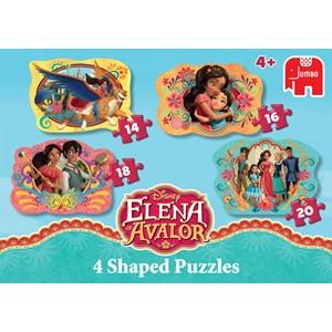 "Jumbo (19675) - ""Disney, Elena of Avalor"" - 14 16 18 20 piezas"
