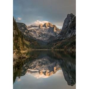 """Piatnik (5493) - """"Mountain Scene Dachstein"""" - 1000 piezas"""