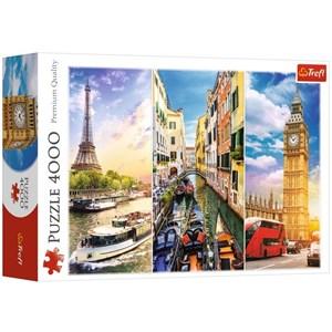 "Trefl (45009) - ""A Journey through Europe"" - 4000 piezas"
