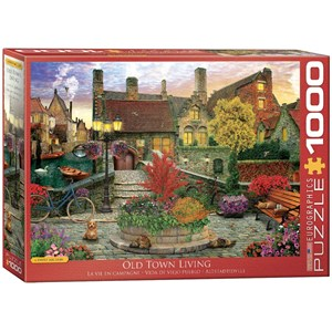 "Eurographics (6000-5531) - David McLean: ""Old Town Living"" - 1000 piezas"