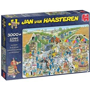 """Jumbo (19198) - Jan van Haasteren: """"The Winery"""" - 3000 piezas"""