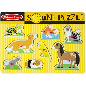 "Melissa and Doug (10730) - ""Pets"" - 8 piezas"