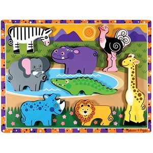 "Melissa and Doug (13722) - ""Safari"" - 8 piezas"