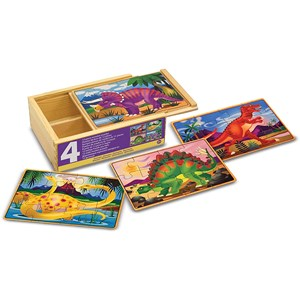 "Melissa and Doug (13791) - ""Dinosaur"" - 12 piezas"