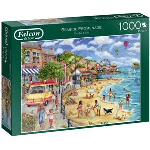 """Falcon (11264) - Debbie Cook: """"Seaside Promenade"""" - 1000 piezas"""