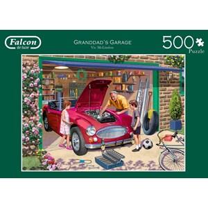 """Falcon (11209) - Victor McLindon: """"Grandad's Garage"""" - 500 piezas"""