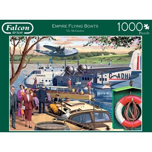 "Falcon (11194) - Victor McLindon: ""Empire Flying Boats"" - 1000 piezas"