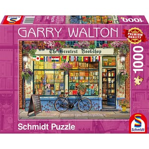"Schmidt Spiele (59604) - Garry Walton: ""Bookstore"" - 1000 piezas"