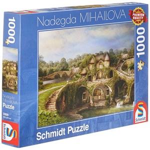 """Schmidt Spiele (59608) - Nadegda Mihailova: """"Nature House"""" - 1000 piezas"""