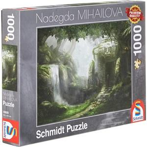 """Schmidt Spiele (59609) - Nadegda Mihailova: """"Retreat"""" - 1000 piezas"""