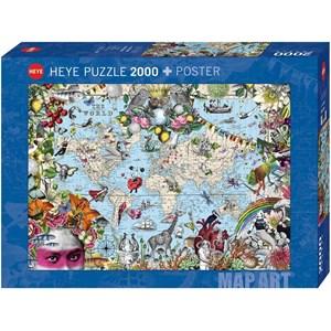 "Heye (29913) - ""Quirky World"" - 2000 piezas"