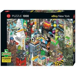 "Heye (29914) - eBoy: ""New York Quest"" - 1000 piezas"