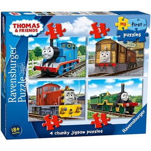 "Ravensburger (06940) - ""Thomas & Friends"" - 2 3 4 5 piezas"