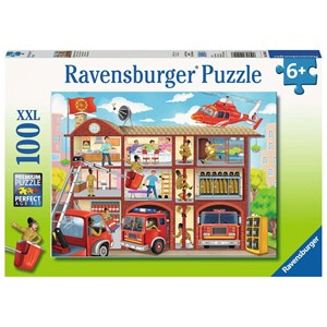 "Ravensburger (10404) - ""Fire Station"" - 100 piezas"