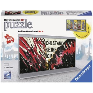 "Ravensburger (12576) - ""Berlin Wall Art No. 4"" - 108 piezas"