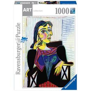 "Ravensburger (14088) - Pablo Picasso: ""Portrait of Dora Maar"" - 1000 piezas"