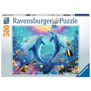"Ravensburger (14811) - ""Dolphins"" - 500 piezas"