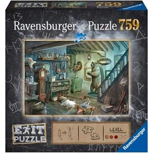 "Ravensburger (15029) - ""Forbidden Basement (in German)"" - 759 piezas"