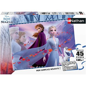 "Nathan (864515) - ""Frozen 2"" - 45 piezas"