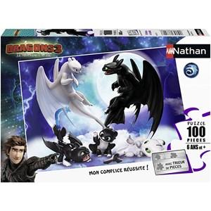 """Nathan (86767) - """"Dragons"""" - 100 piezas"""