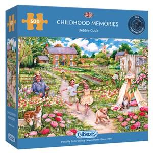 """Gibsons (G3126) - Debbie Cook: """"Childhood Memories"""" - 500 piezas"""