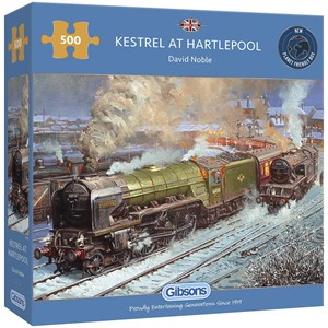 "Gibsons (G3130) - David Noble: ""Kestrel at Hartlepool"" - 500 piezas"