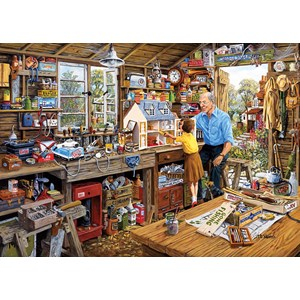 "Gibsons (G3533) - Michael Herring: ""Grandad's Workshop"" - 500 piezas"