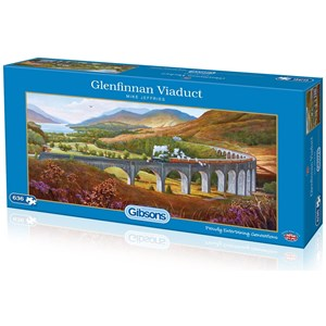 "Gibsons (G4037) - Mike Jeffries: ""Glenfinnan Viaduct"" - 636 piezas"