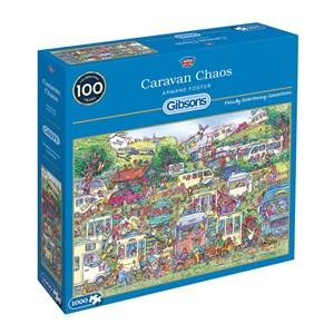 "Gibsons (G6258) - Armand Foster: ""Caravan Chaos"" - 1000 piezas"