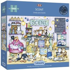 "Gibsons (G6287) - Linda Jane Smith: ""Scent"" - 1000 piezas"