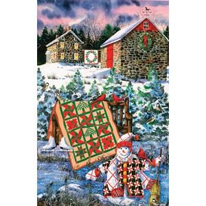 """SunsOut (14634) - Diane Phalen: """"A Christmas Cheer Quilt"""" - 1000 piezas"""