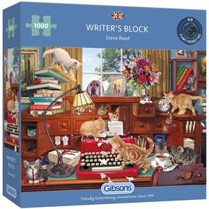"Gibsons (G6290) - Steve Read: ""Writer's Block"" - 1000 piezas"