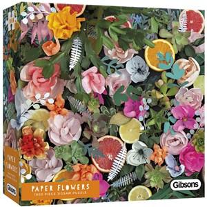 """Gibsons (G6600) - Rachel Emma Waring: """"Paper Flowers"""" - 1000 piezas"""