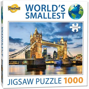 "Cheatwell Games (13954) - ""World's Smallest"" - 1000 piezas"