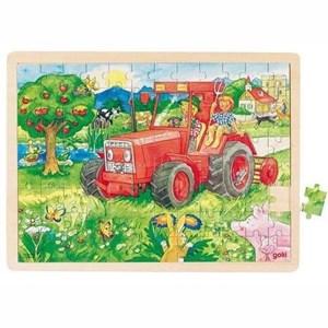 "Goki (57655) - ""Tractor"" - 96 piezas"