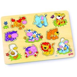 "Goki (57838) - ""Baby Animals"" - 10 piezas"