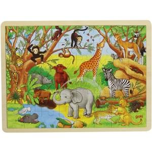 "Goki (57892) - ""Africa"" - 48 piezas"