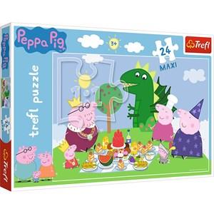 """Trefl (14157) - """"Peppa Pig"""" - 24 piezas"""