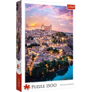 "Trefl (26146) - ""Toledo, Spain"" - 1500 piezas"