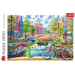 "Trefl (26149) - ""Amsterdam"" - 1500 piezas"