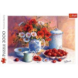 "Trefl (27093) - Hardwick Trisha: ""Sweet Afternoon"" - 2000 piezas"