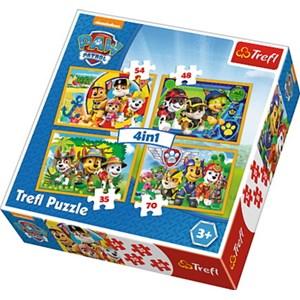 """Trefl (34307) - """"Always on Time"""" - 35 48 57 70 piezas"""