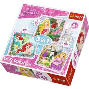 "Trefl (34842) - ""Disney Princess"" - 50 piezas"