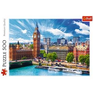 "Trefl (37329) - ""Sunny day in London"" - 500 piezas"