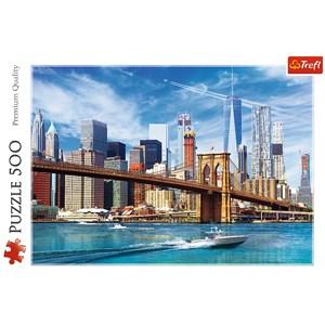 "Trefl (37331) - ""View of New York"" - 500 piezas"