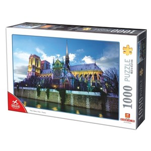 """D-Toys (75772-02) - """"Notre Dame de Paris, France"""" - 1000 piezas"""