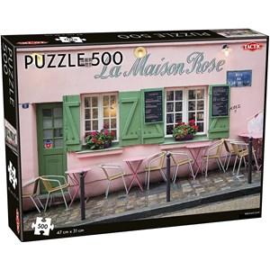 "Tactic (55259) - ""Parisian Café"" - 500 piezas"